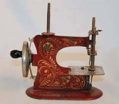 Miniature Sewing Machine Made In Germany