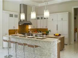kitchen breakfast bar pendant lights quartz stone