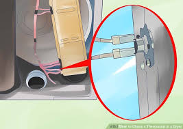 how to check a thermostat in a dryer 5 steps pictures image titled check a thermostat in a dryer step 3