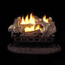 24 in ventless natural gas log