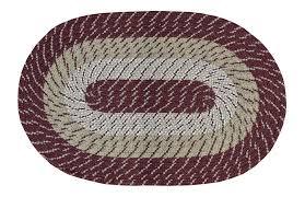 m nylon burdy braided rug