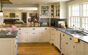 cottage kitchen ideas. Artistic Traditional Cottage Kitchens Of French Landscape Mural In Kitchen Design Ideas