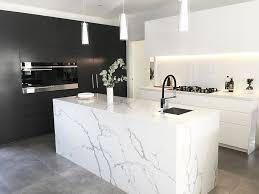 modern concrete kitchen floor