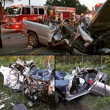 Two Victims Freed from Horrific Car Accident - Morningside VFD