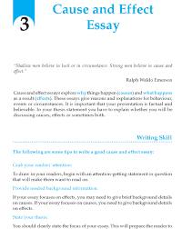 what is a cause and effect essay grade 9 cause and effect essay http writing wordzila com grade 9