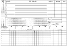 11 Free Sample Cricket Score Sheet Templates Printable Samples
