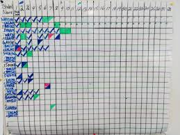 Student Tracking Chart Teacher Feature Benjamin Gallup Teach For Canada