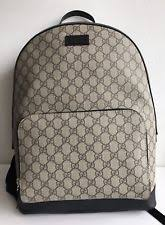 gucci book bags for men. gucci gg supreme monogrammed backpack gucci book bags for men
