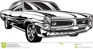 S Muscle Car Illustration 42506953 Jpg