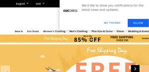 Eric Dress Size Chart Ericdress Reviews 1 516 Reviews Of Ericdress Com Sitejabber