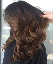 Light Brown Roots Dark Brown Hair Light Brown Balayage Hair With Black Roots Hair Color