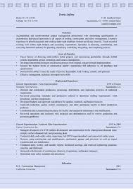 4 Superintendent Resume Sample Ms Word Doc Format