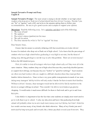 example of a persuasive essay best photos of student essay view larger