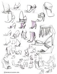 accessory design sketches_2007 by rachel richards at coroflot com