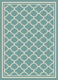 tayse garden city tangier gct1009 aqua indoor outdoor area rug
