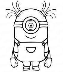 Come Disegnare A Step Il Minion Con Un Solo Occhio Semplicemente A
