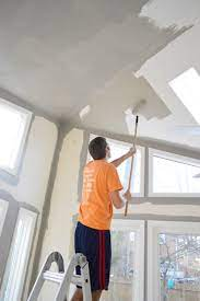 paint extra high vaulted ceilings