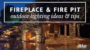 mckay landscape lighting.  landscape fire pit and fireplace lighting ideas inside mckay landscape lighting