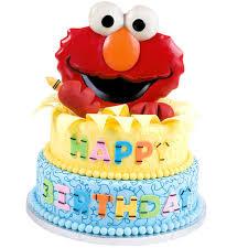 Elmo Birthday Cake Sesame Street Cakes Wilton
