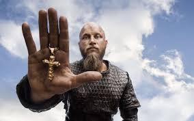 ragnar lodbrok in vikings 1366x768 resolution