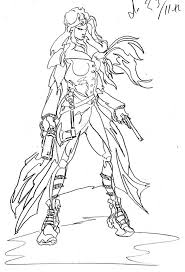 warrior princess coloring pages free coloring pages
