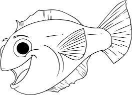 cute fish template