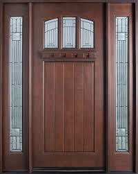 Solid Oak Exterior Door  Kelli Arena - Hardwood exterior doors and frames