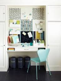 pinterest office desk. Fabric-covered Corkboards Add Color To This Home Office. More Office Inspiration: Http Pinterest Desk O