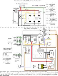 rheem wiring diagram air handler wiring diagrams and schematics connecting thermostat on rheem heat pump system doityourself