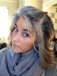 hair coulour inspiration with enchanting fascinating blending grey hair with highlights and lowlights idea