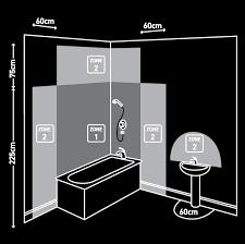 bathroom lighting zones. Lighting Bathroom Zones G
