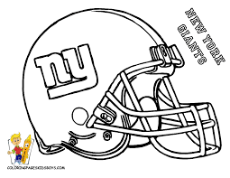 Small Picture NY Giants free printable coloring helmet Entertain Superbowl
