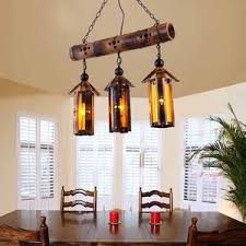 vintage bamboo and wrought iron multi pendant lights bamboo pendant lighting
