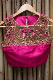 Full Embroidery Blouse Designs 10 Blouse Embroidery Designs To Check Out This Wedding