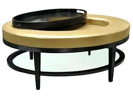 round leather coffee table luxury round gold leather coffee table ottoman design leather coffee table uk