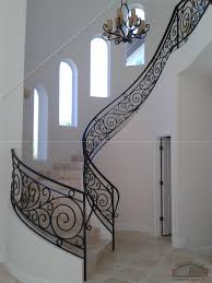 Wrought Iron Handrails Wrought Iron Staircase Railings Ideas Iron Stair Railing For