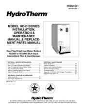 hydrotherm hc 100 manuals hydrotherm hc 100 installation operation maintenance