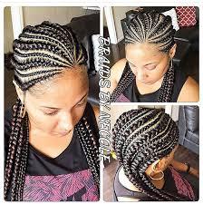 Pin by Myra Reid on BRAIDS   Ghana braids hairstyles, Jumbo cornrow styles,  Braided hairstyles