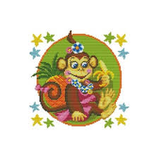 Chart Cross Stitch Free Nkf Beautiful Monkey Cartoon Style No Counted Free Cross Stitch Patterns Charts To Print Buy Online C427 Buy Free Cross Stitch Patterns Charts To