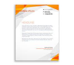 Letterhead Design Online Custom Printed Letterhead Company Letterhead Design Online