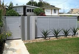 aluminum privacy fence. Aluminum Fencing Ideas \u2013 Stylish House Exterior Design Privacy Fence