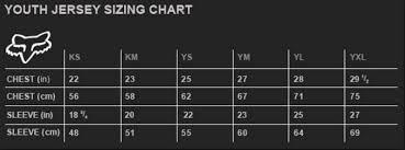 52 Abiding Fox Racing Pants Youth Size Chart