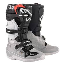 Alpinestars Tech 3 Size Chart Details About Alpinestars Tech 7s Youth Mx Offroad Boots Black Silver White Gold