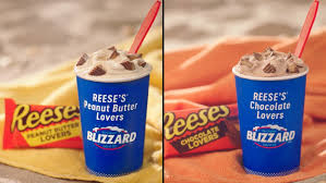 Blizzard flavors and specialty treats have come and gone over the past decades, but some still exist on the dairy queen secret menu. Dairy Queen S June 2019 Reese S Blizzards Will Have You Picking Chocolate Or Peanut Butter