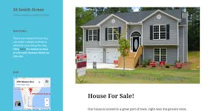 advertise home for sale build a site to help sell your house tutorial support wordpress com