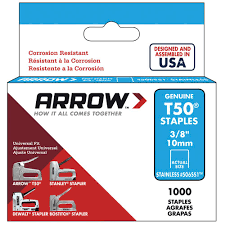 Arrow Staple Size Chart Staple Gun Staple Sizes Chart Www Bedowntowndaytona Com