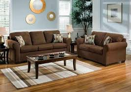 blue walls brown furniture. Brown And Blue Living Room Furniture With Walls L