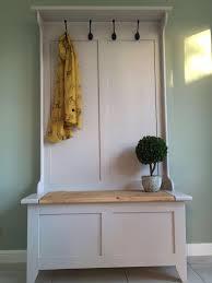 Pine Coat Rack Hall Stand Coat Rack Seat Settle Bespoke Handmade Pine Storage MADE 19