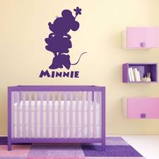 minnie mouse wall decals vinyl decor