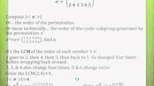 A First Course In Abstract Algebra Solutions Modern Algebra Abstract Algebra Made Easy Part 4 Permutations